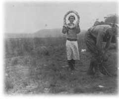 1937_Marie_Sanders_nel_Auyán-Tepuy